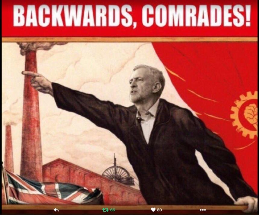 backwards comrades