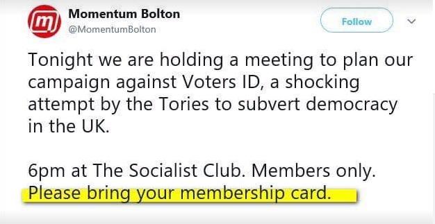 momentum irony